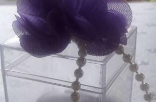 Model : lilaçiçek  şeffaf kutu