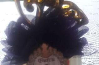 Model : şişe kelebek motif